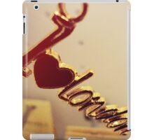 I *heart* London iPad Case/Skin
