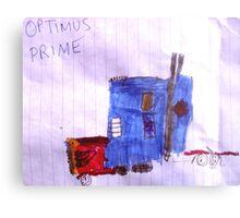 Optimus Prime. Metal Print