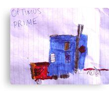 Optimus Prime. Canvas Print