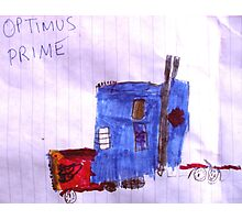 Optimus Prime. Photographic Print
