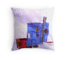Optimus Prime. Throw Pillow