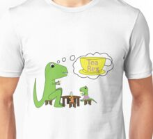 T-Rex Tea Party Unisex T-Shirt