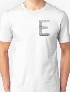 'E' Patterned Monogram T-Shirt
