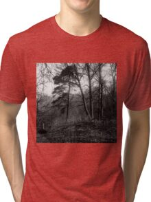 traditional russian landscape Tri-blend T-Shirt