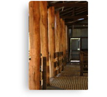 Shearing Shed - Frankland, Western Australia Canvas Print