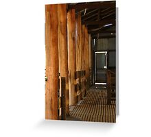 Shearing Shed - Frankland, Western Australia Greeting Card