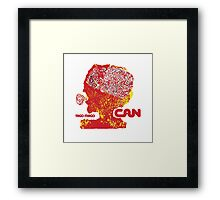 Can Tago Mago Framed Print
