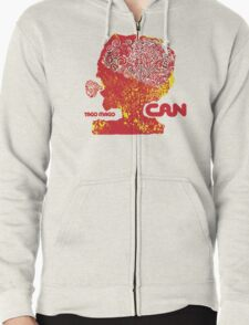 Can Tago Mago Zipped Hoodie