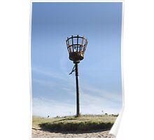 Beach Beacon, Skegness Poster