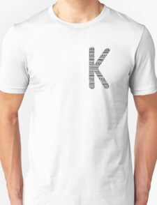 'K' Patterned Monogram T-Shirt