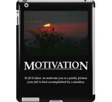 Life's Lesson - Motivation iPad Case/Skin