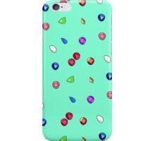 Blue Gem Pattern iPhone Case/Skin