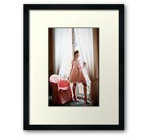 Ethereal Elegance Framed Print
