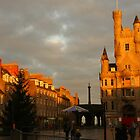 Castlegate in a warm winter glow by christopher363