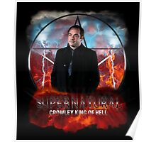 Supernatural Crowley King of Hell Poster