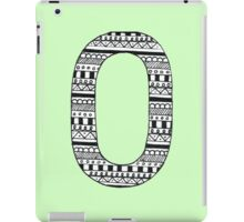 'O' Patterned Monogram iPad Case/Skin