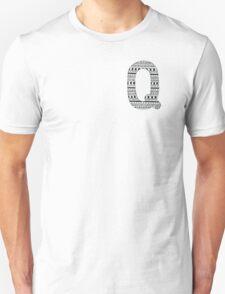 'Q' Patterned Monogram T-Shirt