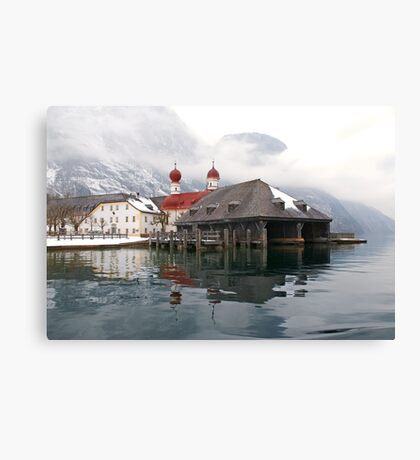Castle by the Königsee Canvas Print