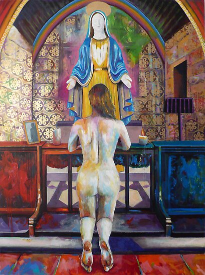 Dios te Salve Maria (Hail Mary) - A homage to the Virgin Mary by Catalina  Viejo Lopez de Roda