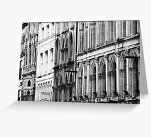 Architecture of Rhythm Greeting Card
