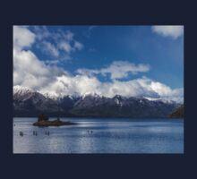 Lake Nahuel Huapi, Patagonia, Argentina Kids Tee