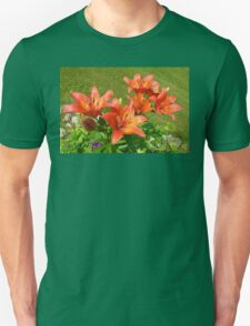 Loads Of Blooms.... Tiger Lilies Unisex T-Shirt