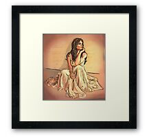 My Love Will Follow You Framed Print