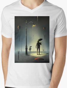 Tesouras. Mens V-Neck T-Shirt