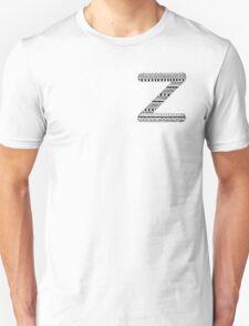 'Z' Patterned Monogram T-Shirt