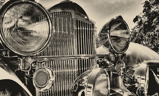 old packard chrome by pdsfotoart