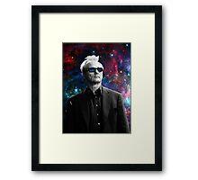 BILL MURRAY GALAXY COSMOS Framed Print