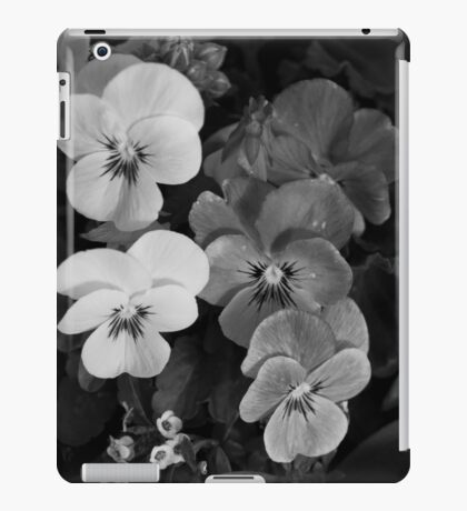 Color...in black and white iPad Case/Skin