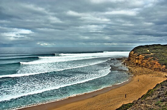 Bells Beach Smooth Wednesday by Andy Berry