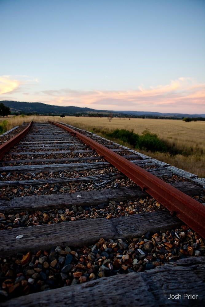 Railway to nowhere  by Josh Prior