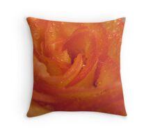 Fire Sale Rose Throw Pillow