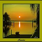 Sunrise on My Canal for Sharon by Memaa