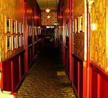 """""""Haunted Castle Hallway"""" by Lynn Bawden"""