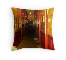 """Haunted Castle Hallway"" Throw Pillow"