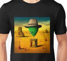 Retrato de um Balão. Unisex T-Shirt