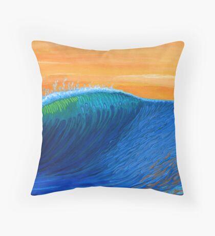 Fish Fry Throw Pillow