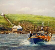 Royal National Lifeboat Institution To The Rescue by William H. RaVell III