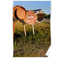 Country Letterbox Poster