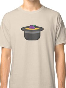 A Single Plum, Floating in Perfume, Served in a Man's Hat Classic T-Shirt