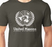 United Masons - Global Dictatorship Unisex T-Shirt