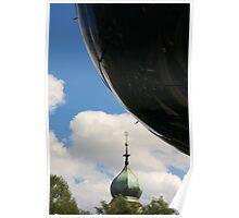 UFO visit Poster