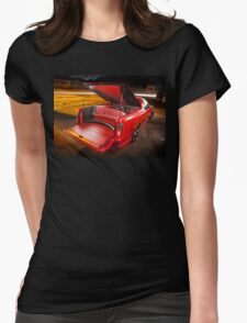 Kim Smith's VY Holden Commodore Ute 'Wildfire' Womens Fitted T-Shirt