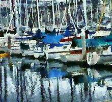 Harbor Reflections by Bunny Clarke