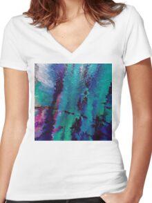 Aurora Women's Fitted V-Neck T-Shirt