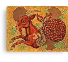 Aegipan (The Sea Goat) Canvas Print
