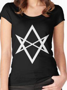 Unicursal Hexagram Women's Fitted Scoop T-Shirt